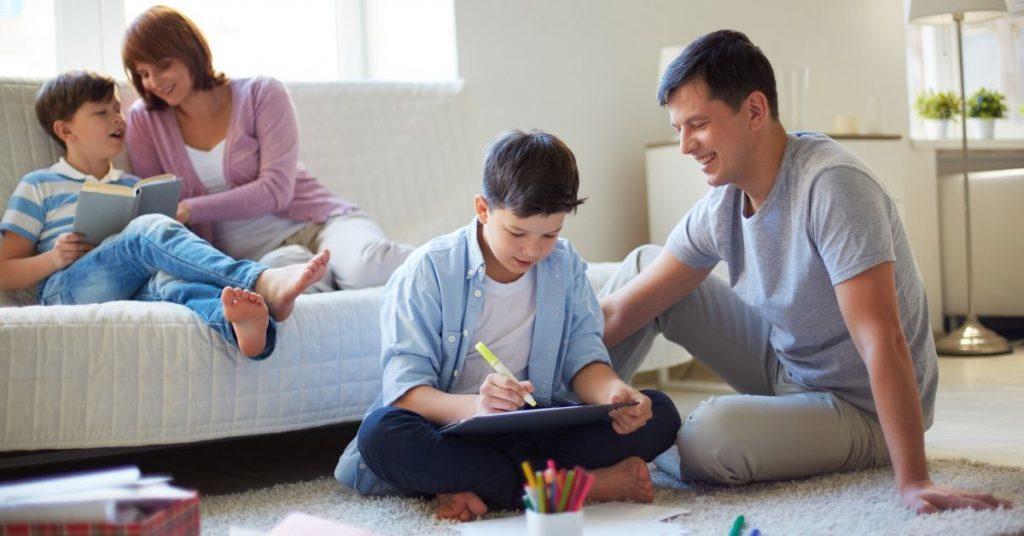 3 tips de salud mental para padres durante la cuarentena
